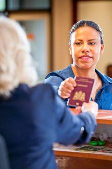 Passport Return Service